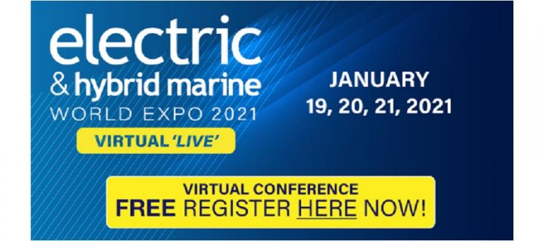 Electric & Hybrid Marine 2021 'Virtual 'Live'